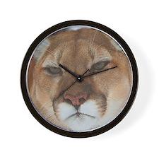 Big Face Animal - Panther Wall Clock