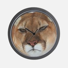Big Face Animal - Panther Wall Clock