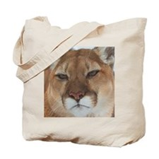 Big Face Animal - Panther Tote Bag