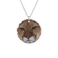 Big Face Animal - Panther Necklace