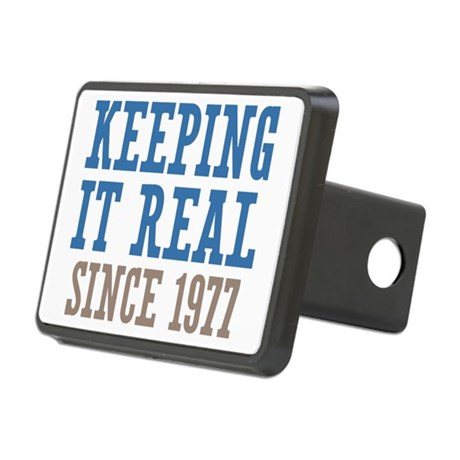 Keeping It Real Since 1977 Rectangular Hitch Cover