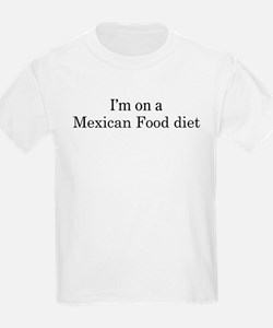 Mexican Food diet T-Shirt