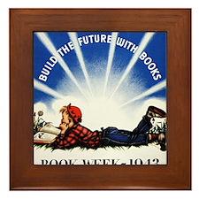 1943 Childrens Book Week Framed Tile