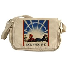 1943 Childrens Book Week Messenger Bag