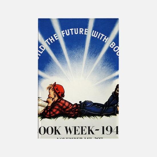 1943 Childrens Book Week Rectangle Magnet