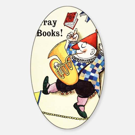 1960 Childrens Book Week Sticker (Oval)