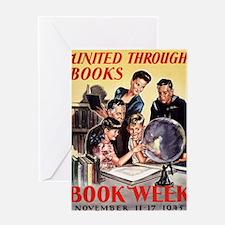 1945 Childrens Book Week Greeting Card