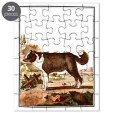 Dog (Icelandic Sheepdog) Puzzle