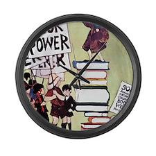 1969 Childrens Book Week Large Wall Clock