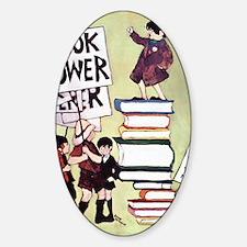 1969 Childrens Book Week Sticker (Oval)