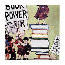 1969 Childrens Book Week Tile Coaster