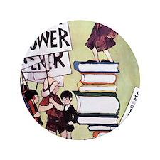 """1969 Childrens Book Week 3.5"""" Button"""