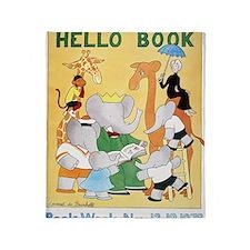1978 Childrens Book Week Throw Blanket