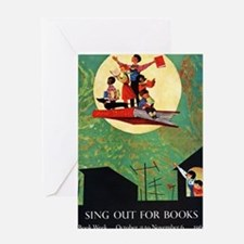 1965 Childrens Book Week Greeting Card