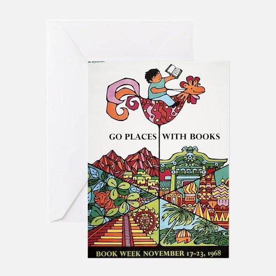 1968 Childrens Book Week Greeting Card