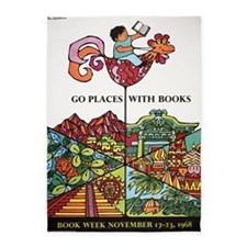1968 Childrens Book Week 5'x7'Area Rug