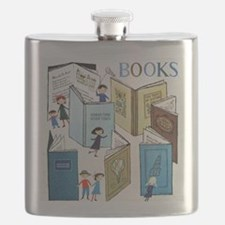 1957 Childrens Book Week Flask