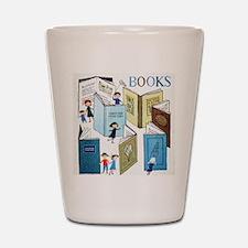 1957 Childrens Book Week Shot Glass