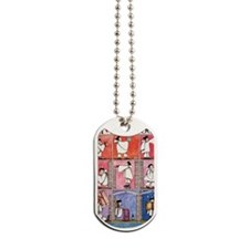 1983 Childrens Book Week Dog Tags