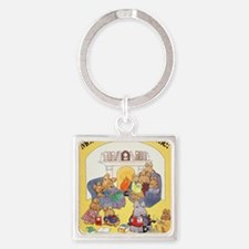 1979 Childrens Book Week Square Keychain