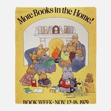 1979 Childrens Book Week Throw Blanket