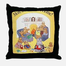 1979 Childrens Book Week Throw Pillow