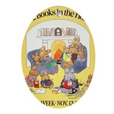 1979 Childrens Book Week Oval Ornament
