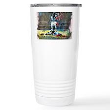 Knocked Out Travel Coffee Mug