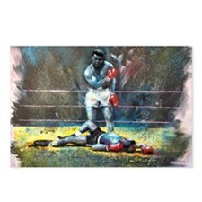Knocked Out Postcards (Package of 8)