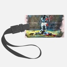 Knocked Out Luggage Tag