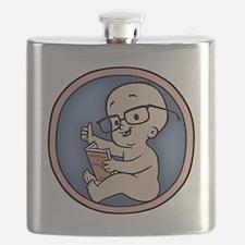 nerd-womb-T Flask