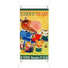1975 Childrens Book Week Banner