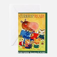 1975 Childrens Book Week Greeting Card