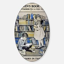 1921 Childrens Book Week poster Decal