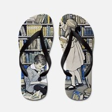 1921 Childrens Book Week poster Flip Flops