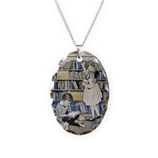 1921 Childrens Book Week poste Necklace
