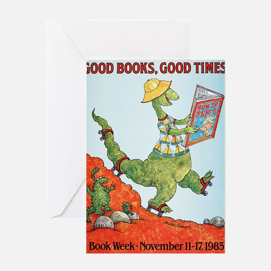 1985 Childrens Book Week Greeting Card