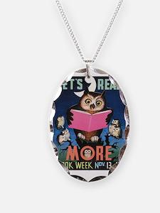 1955 Childrens Book Week Necklace