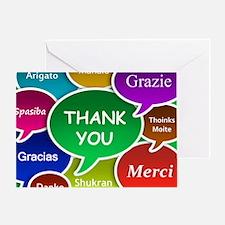 Thank You Cloud Greeting Card