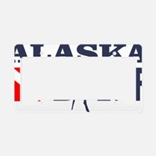 Alaska Diver License Plate Holder