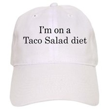 Taco Salad diet Baseball Cap