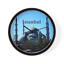 Istanbul_6x6_BlueMosque Wall Clock