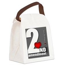 2nd Love Canvas Lunch Bag