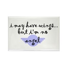 I'm no Angel Rectangle Magnet