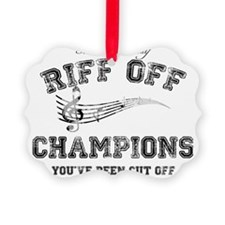 Pitch Perfect Riff Off Champions Ornament