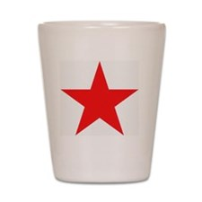 Megans Sharon Tate Red Star Shot Glass