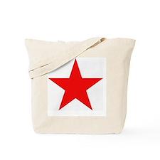 Megans Sharon Tate Red Star Tote Bag