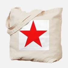 Megans Sharon Tate Red Star Tote Bag