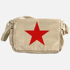 Megans Sharon Tate Red Star Messenger Bag