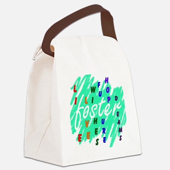foster... Canvas Lunch Bag